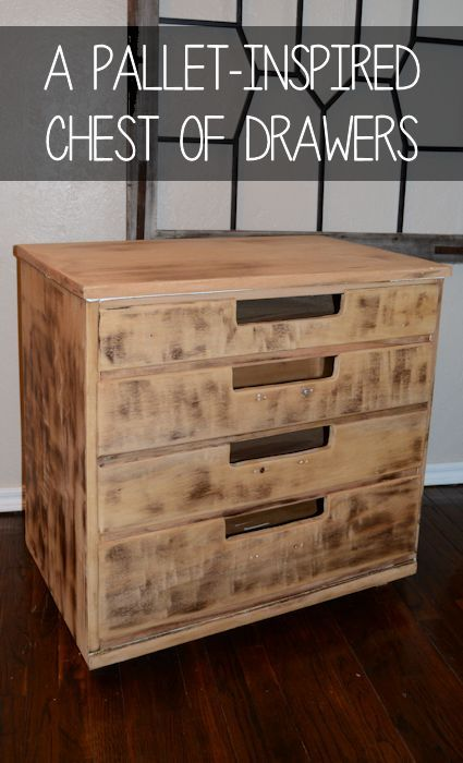A Pallet Inspired Dresser Easy And Inexpensive To Make Tutorial On Site Your Funky Junk Repurposing Community Board Pinterest