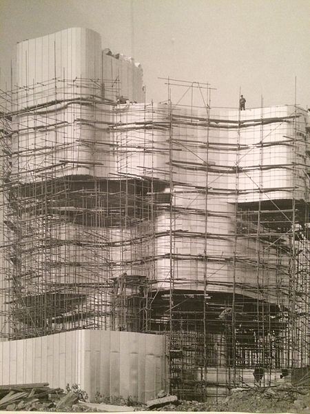 Petrova Gora. Construction of the #monument #spomeniky #architecture #art