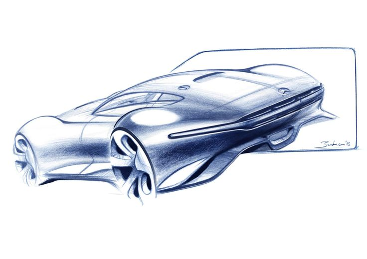 Mercedes AMG GranTurismo sketch