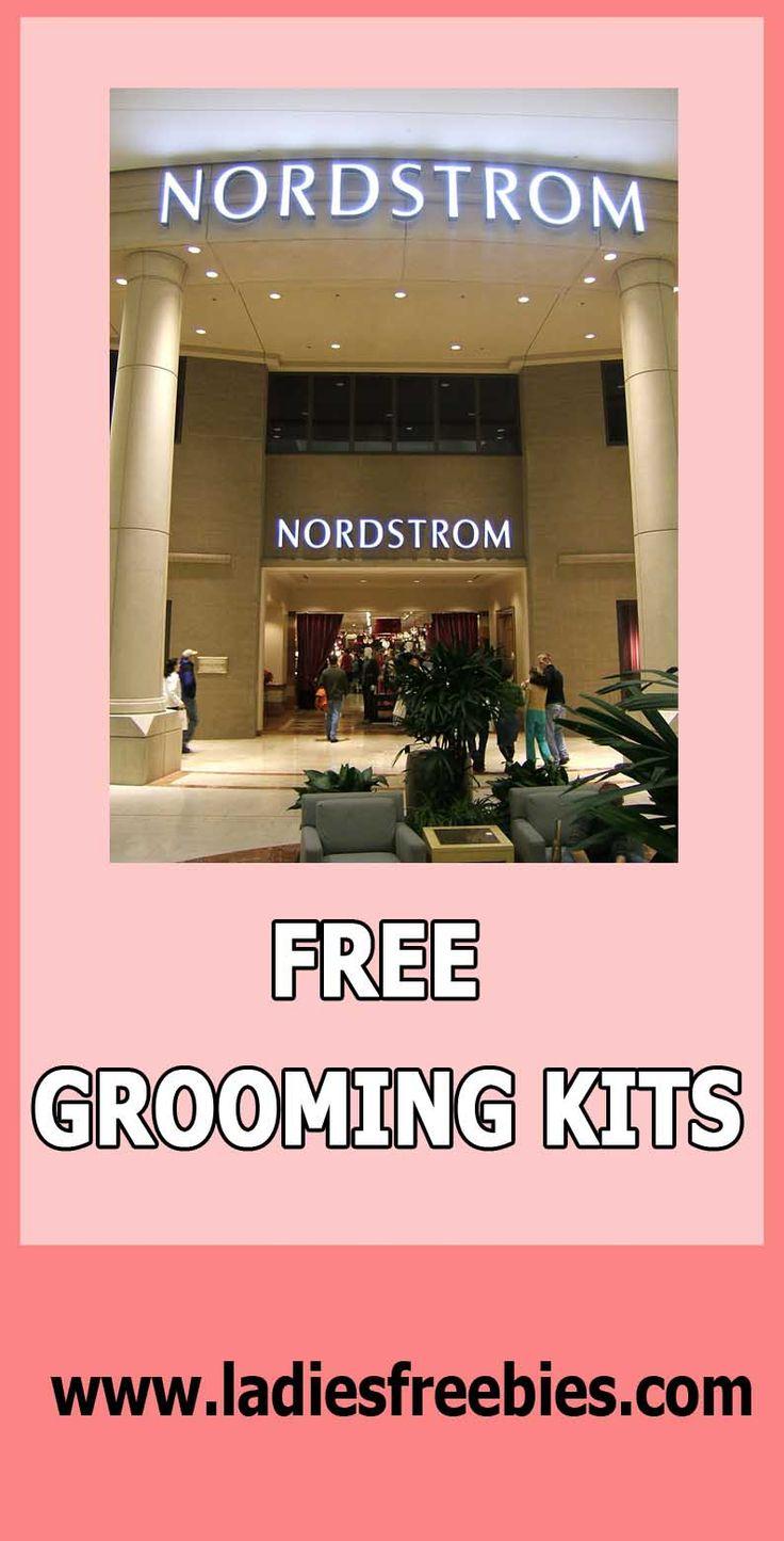 FREE GROOMING KITS AT NORDSTROM, just visit ladiesfreebies.com!  #groomingkit #nordstorm #freesamples