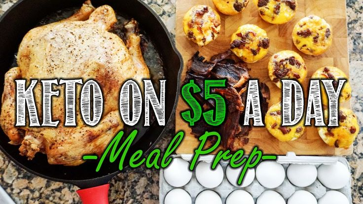 Keto on a Budget Meal Prep Video | $5 a Day Meal Prep for 5 Days | Simpl...