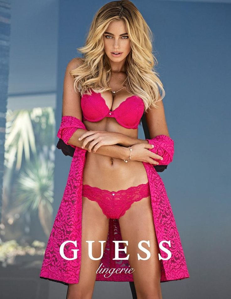 2016 Week 5 #FacticeLoves  Elizabeth Turner by Mégane Claire for GUESS Lingerie SS16.