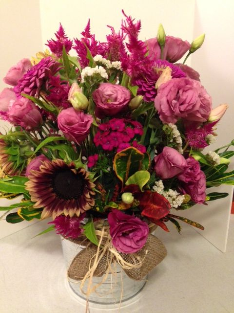 Pretty in Pink.  Beautiful Large Arrangement will really make someone happy.  Send it today for only $85.00