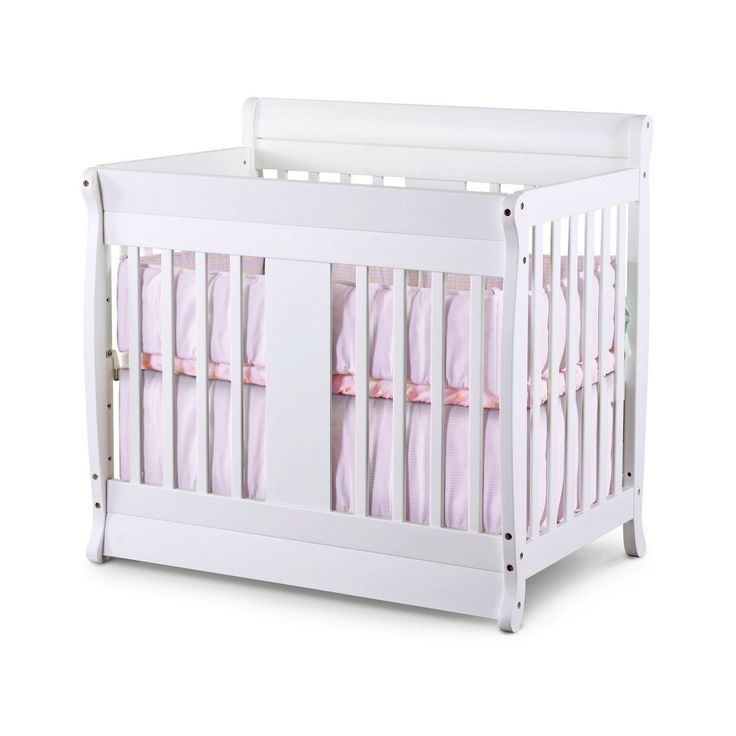 white small baby cribs