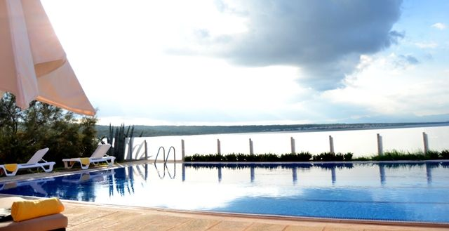 Swimming pool Naturplaya Hotel. Mallorca. Spain. Amazing views  :)