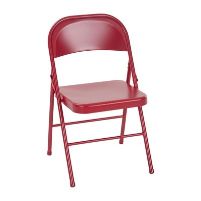 COSCO All Steel Folding Chair (Set of 2)