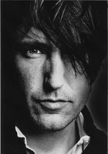 Trent Reznor, yummy, oh and i'd gladly let him serenade me every night before drifting off to sleep