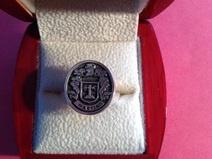 Martin family crest ring