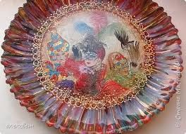 Картинки по запросу тарелка декупаж натюрморт