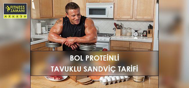 Bol Proteinli Tavuklu Sandviç Tarifi