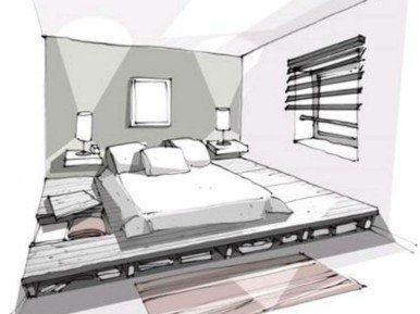 4 idées de rangement au sol, au mur et au plafond