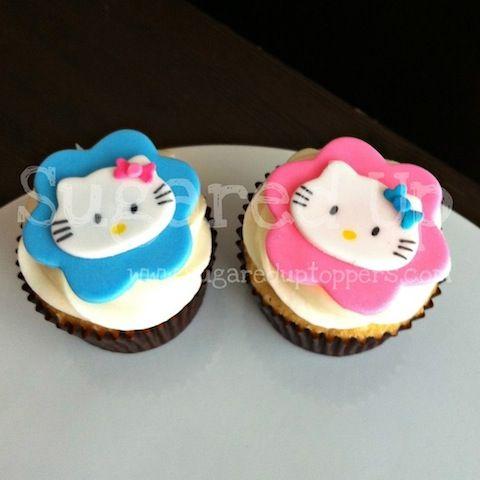 Hello Kitty Party   Hello Kitty Cupcake  #hellokitty #cupcaketopper