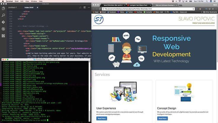 "Building lading Pages :-) Weekend Coding "" #coding #coder #freelancer #webdesign #webdesigner #webdevelopment #webdevelopment #ourhealthyday #designer #inspiration #software #javascript #visualstudio #starbucks #macbookpro #programing #creative #passion #entrepreneur #entepreneurship #html #download #frontend #blogger #windows  #visualstudio #darktheme  #cat #cats #udacity"