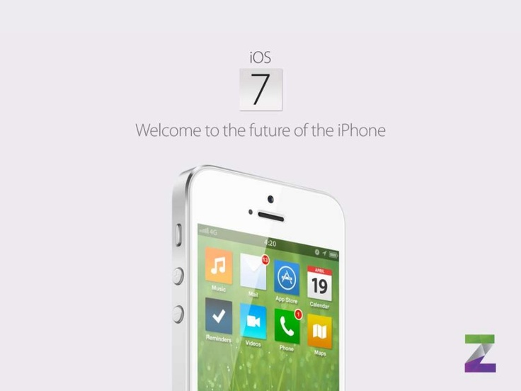 ios-7-concept-welcome-to-the-future-of-the-iphone by Simply Zesty Ltd via Slideshare