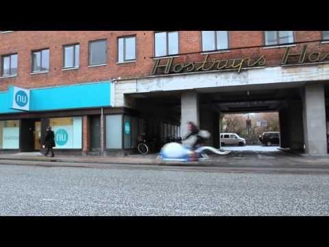 The world's first sperm bike. Only in Copenhagen, folks.