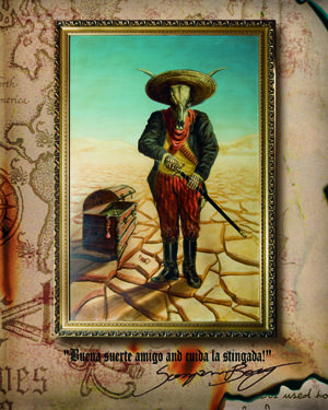 Buena suerte amigo and cuida la stingada!