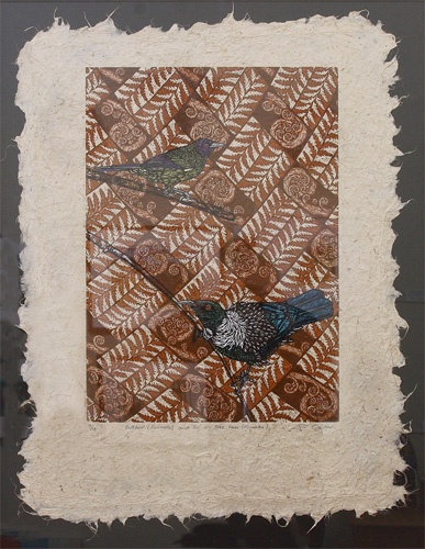 Moray Gallery: Jo Ogier, Bellbird and Tui