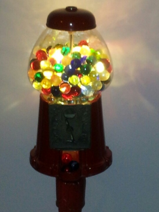 Gumball Lamp: my 'bright' idea!