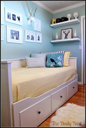 20 Best Ideas About Shelf Over Bed On Pinterest
