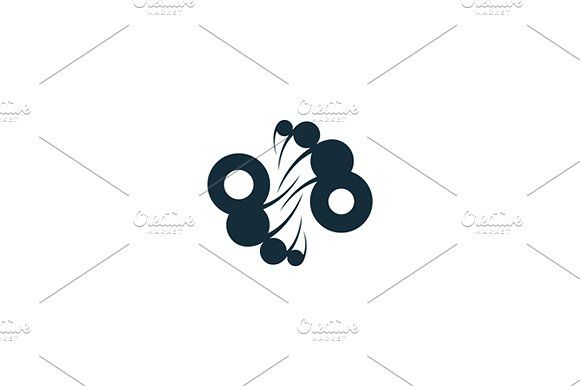 Pipe industry Templates Unusual Logo template isolated on a white backgroundVector files, fully editable. Includes AI CS by Steinar Logo