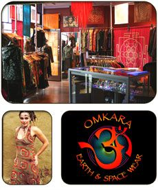 Omkara Earth & Space Wear Telephone: (08) 9335 6400  Address: Shop 8 & 10, Atwell Arcade, Fremantle  Website: Omkara Earth & Space Wear Ethically Conscious Designer Clothing for those who want to express their individuality. We offer alternative well designed, high quality, but affordable clothing. Our chosen designers do not abide by standard fashion rules and create their own unique style in a global spirit of change and awareness.