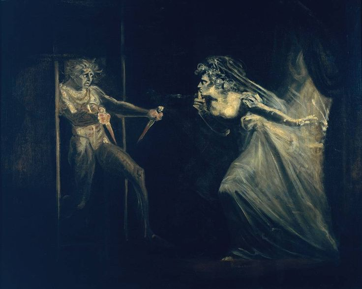 "Lady Mcbeth saisissant les dagues"" exposé en 1812, Henry Fuseli 1741–1825. 'Lady Macbeth Seizing the Daggers', exhibited 1812, Henry Fuseli 1741–1825."