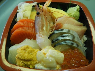 Chirashi Don (Sakura Sushi)