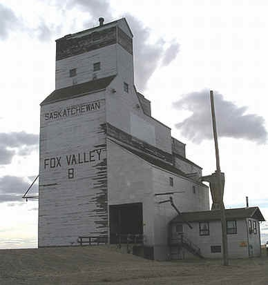 Fox Valley Saskatchewan Grain Elevator