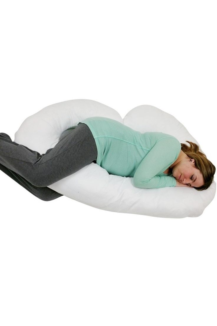Pillowcase For J Shaped Pregnancy Maternity Pillow