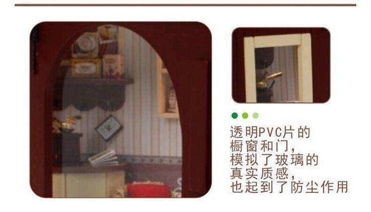 Европейский кафе поделки дерева дом миниатюрный кукольный домик классические игрушки миниатюры для украшения, Поделки ручной работы хижина комплекткупить в магазине Fashion Shop 7наAliExpress