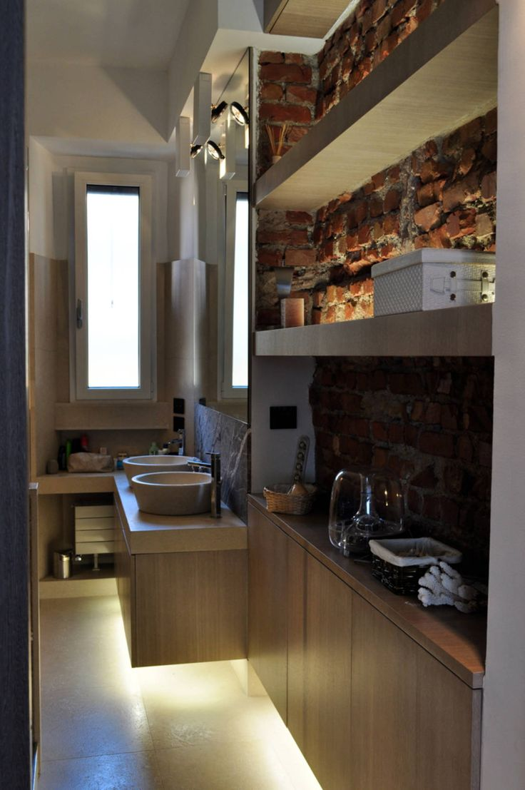 Appartamento Privato - Private Apartment : Bagno moderno di MELLINACORTISTUDIO
