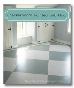Best Images About Painted Subfloor Ideas Pinterest