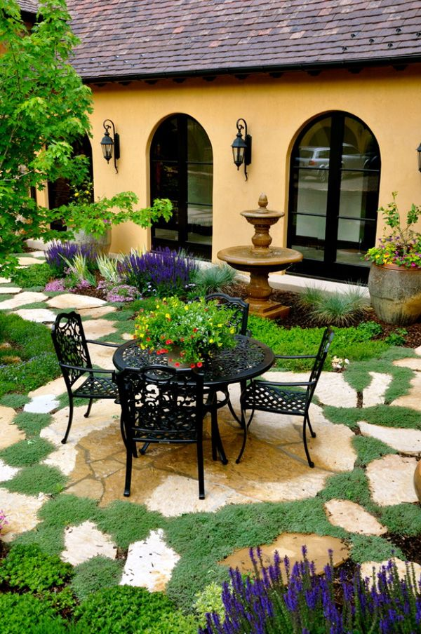 Stone Patio Ideas Backyard 25 great stone patio ideas for your home 46 Inspiring Small Veranda Decorating Ideas Landscaping Ideaspatio Ideasbackyard