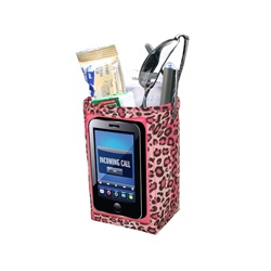 Designer Car Pockets - Leopard Black/Pink  https://www.facebook.com/Purseplus
