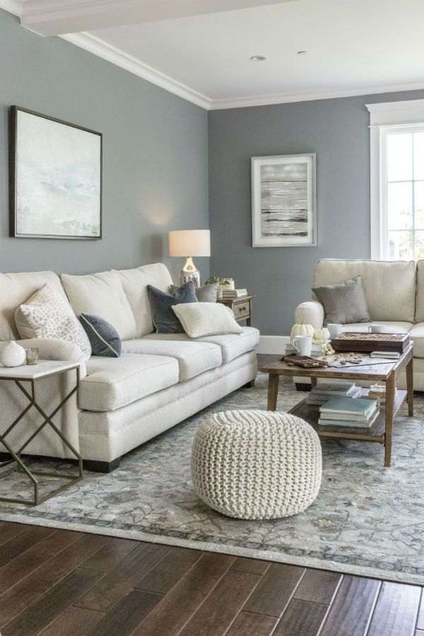 Living Room Ideas Warm Welcoming Styles To Suit Your Space Comfortable Sofas And Loveseats In Neu Living Room Grey Farm House Living Room Living Room Color
