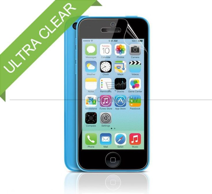 5x CLEAR LCD Screen Protector Guard Cover Film Shield for iPhone 5C Protective Film with Retail Packaging Free Shipping