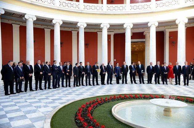 Επίσημη τελετή έναρξης της Ελληνικής Προεδρίας - Ζάππειο Μέγαρο