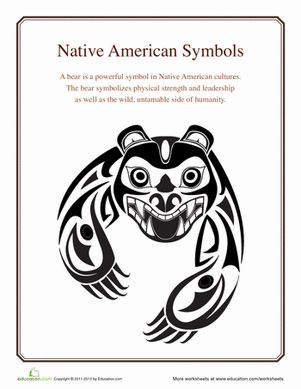 Native American Symbols: Bear