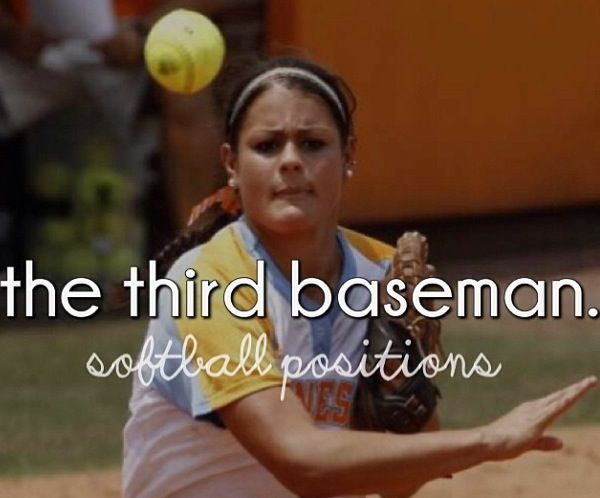 I play third base ♡ and love every minute of it ♡