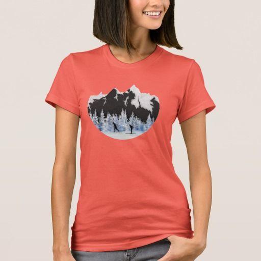 Cross Country Skiing T-Shirt