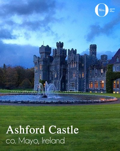 A Hotel to Remember: Ashford Castle, co. Mayo, Ireland * One of the things that I found truly special at Ashford Castle were the people who worked here. Never in my life, have I been to a hotel where people were so proud to work there. Many have been working there for decades, and so did their parents and grandparents.