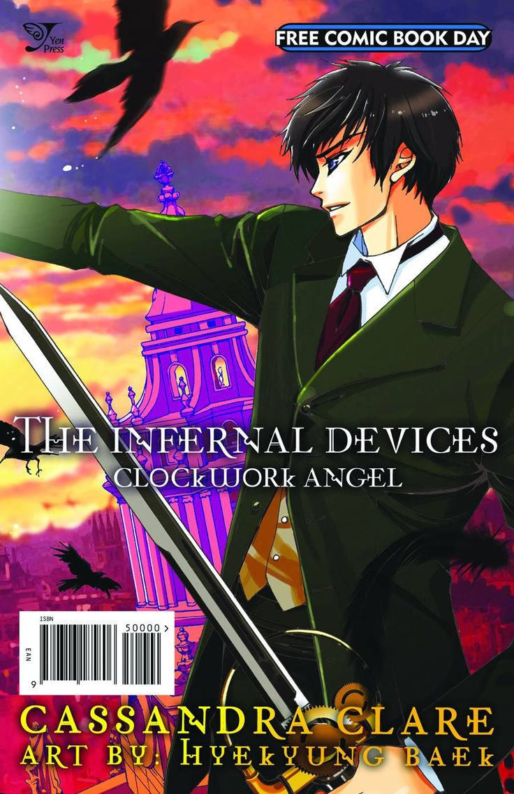 The Infernal Devices: Clockwork Angel Manga Excerpt Available On 5512