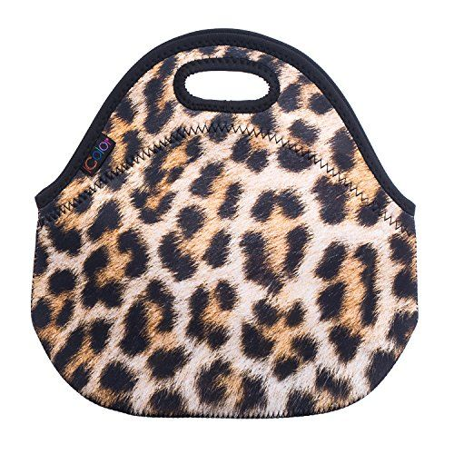Leopard Print Insulated Lunch Tote Bag Cooler Box Neopren... https://www.amazon.com/dp/B00GI40NXG/ref=cm_sw_r_pi_dp_x_-5rTybNE5QG4T