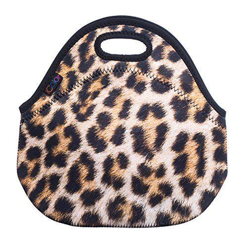 Leopard Print Insulated Lunch Tote Bag Cooler Box Neopren... https://www.amazon.com/dp/B00GI40NXG/ref=cm_sw_r_pi_dp_x_-5rTybNE5QG4T