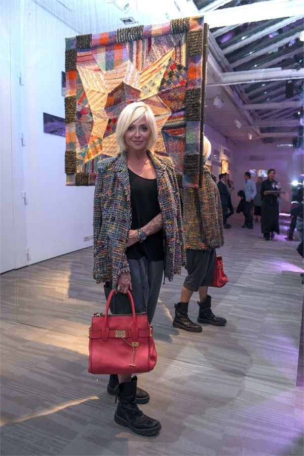 Paola Barale at the  Missoni Mirroring Event
