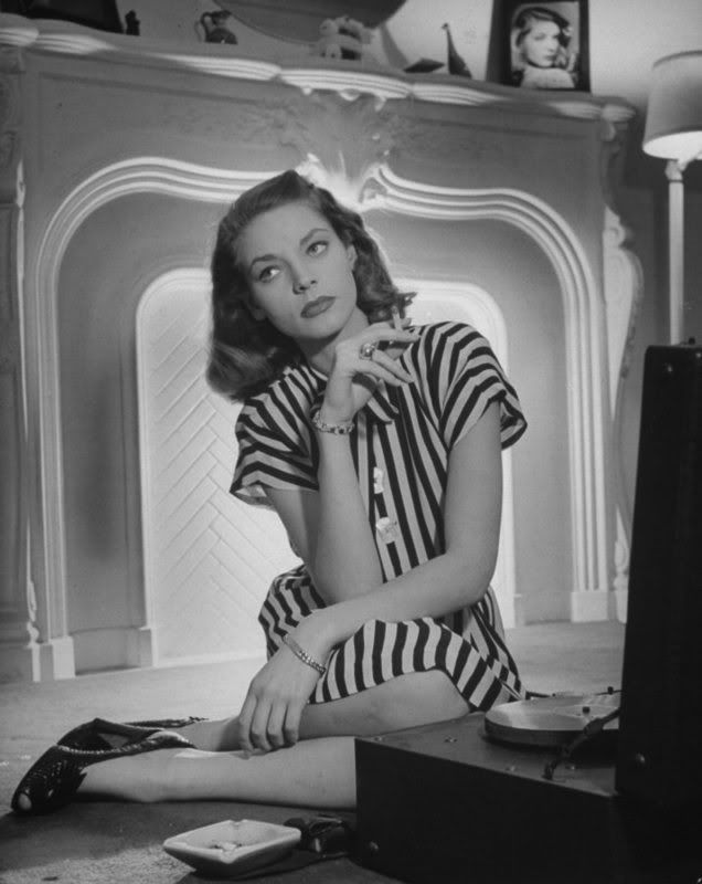 Lauren Bacall - click through to read a great blog post from Kay at Movie Star Makeover!