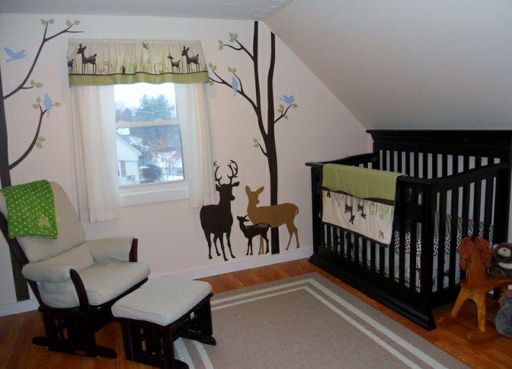 Our Deer Themed Nursery! Deer Themed NurseryBaby Nursery ThemesNursery  DecorNursery IdeasKid ...