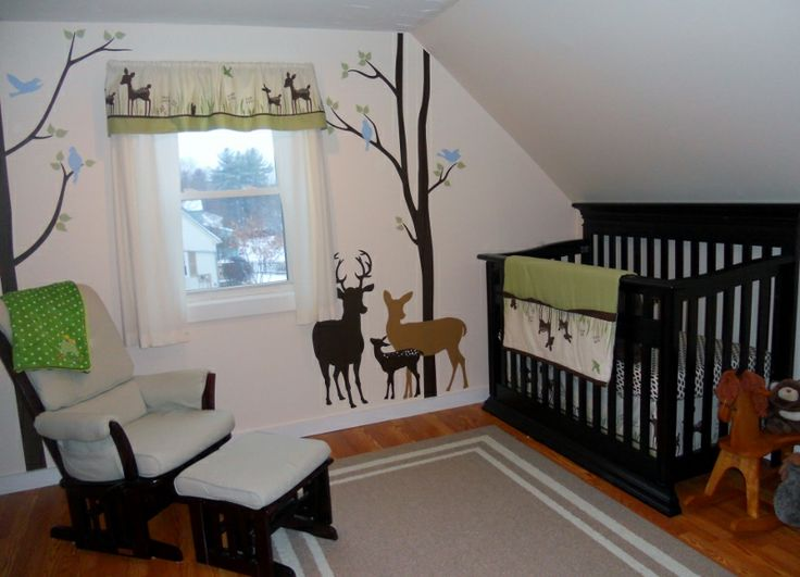 Our Deer Themed Nursery Baby Outdoor Theme Nursery
