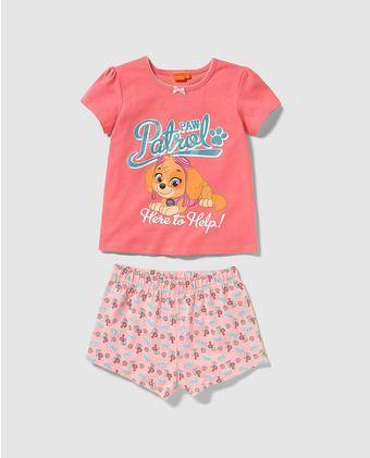 Pijama de niña Personajes de Patrulla Canina
