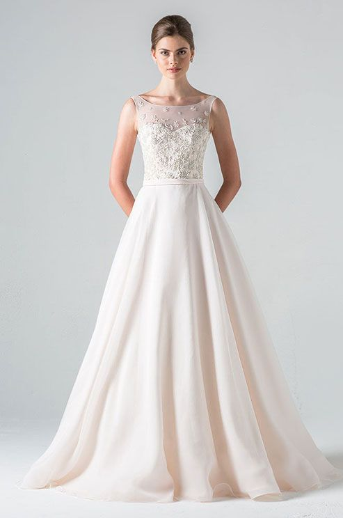 Wedding Dresses With Neckline